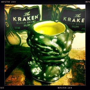 kraken run and shot mug