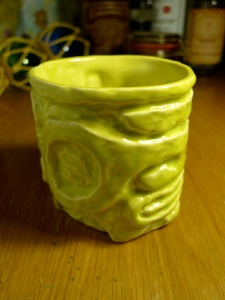 devil reef tiki shot mug